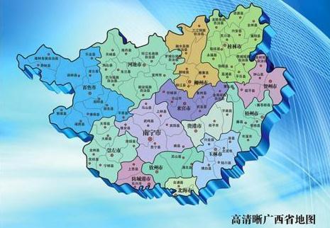 广西的一个县,人口超110万,距梧州市区55公里