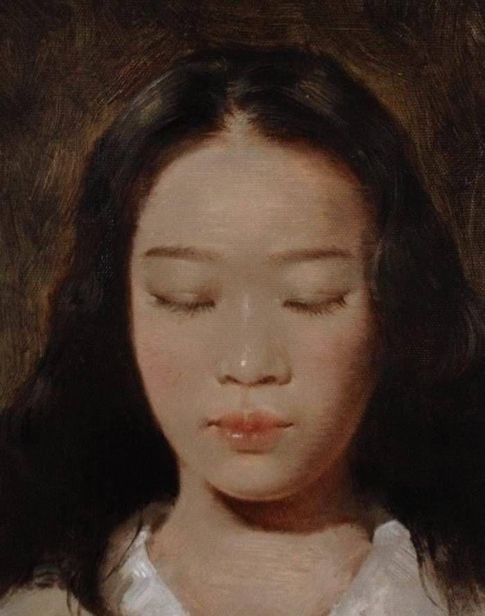 广州美术学院毕业生黄伟超的油画人物创作作品欣赏