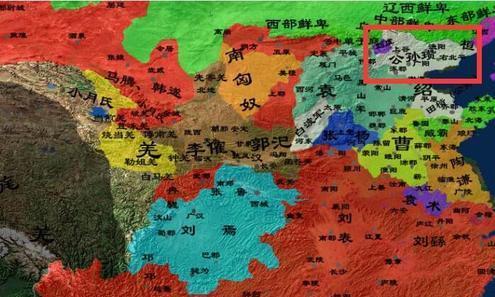 驱叛胡,白马义从纵横辽东;破黄巾,独霸幽州称雄北国-公孙瓒