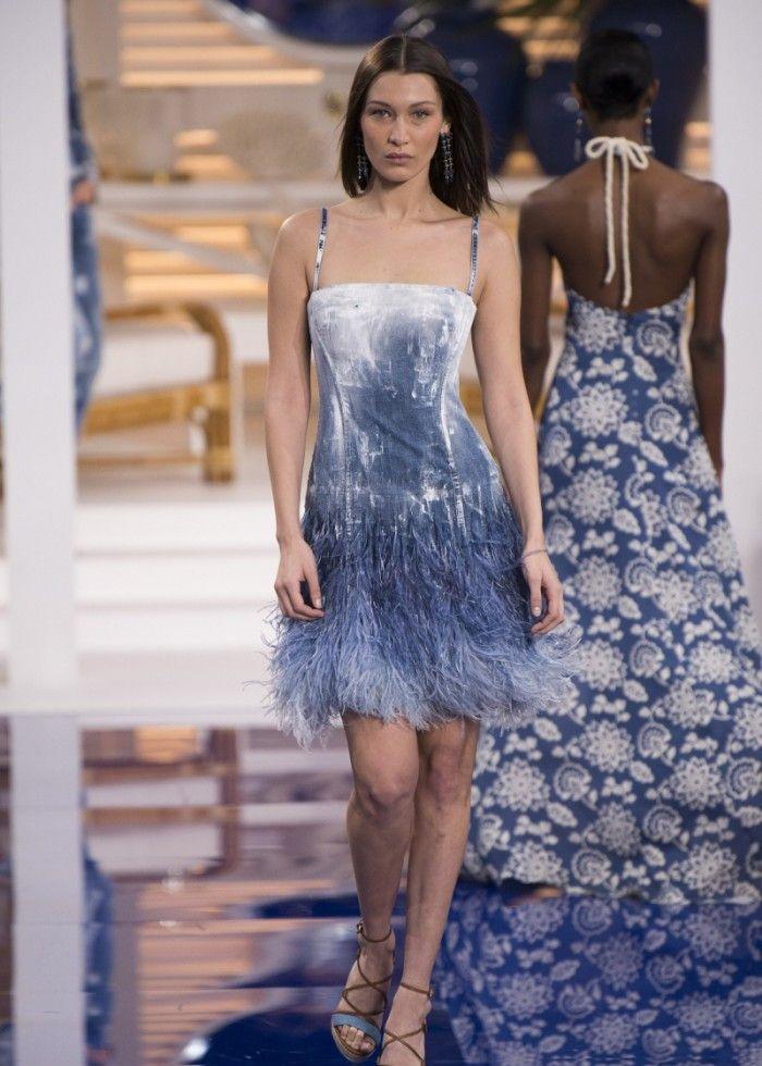 时装周:造型美观吸引目光,服饰充斥潮流因素,模特美艳令人着迷