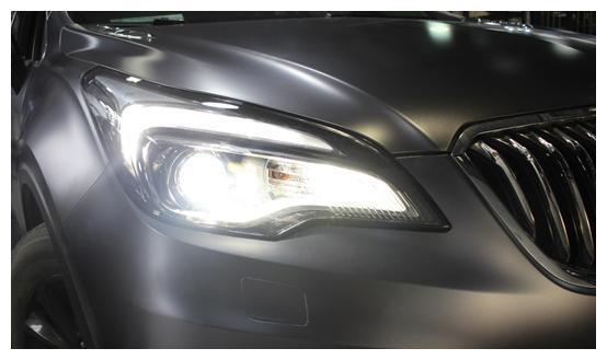 别克昂科威大灯升级氙气套装,霸气的外表终于有了匹配的车灯
