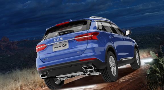 斯威推出新款帅酷SUV,起步不到十万元还有电尾门