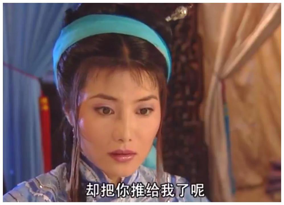 杨丽菁在古装剧中三次头戴发带,明霞郡主甜美,上官无极纯洁无瑕