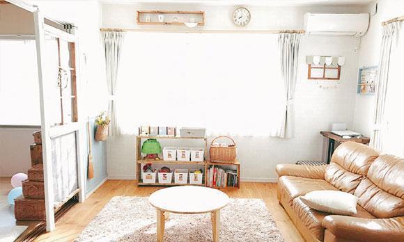 日剧里的家,或许没档次也没设计感,但温馨舒适很接地气!