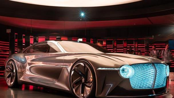 Bentley推出全电力平台打造EXP 100 GT,造型太前卫了