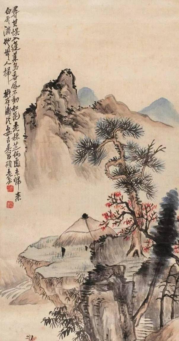 清末著名书画家,篆刻家吴昌硕