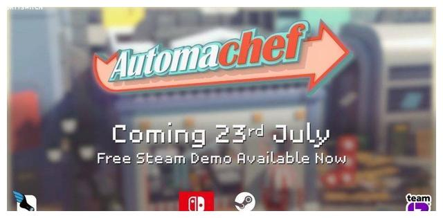 模拟经营游戏《机器人厨师》7月23日登陆SWITCH