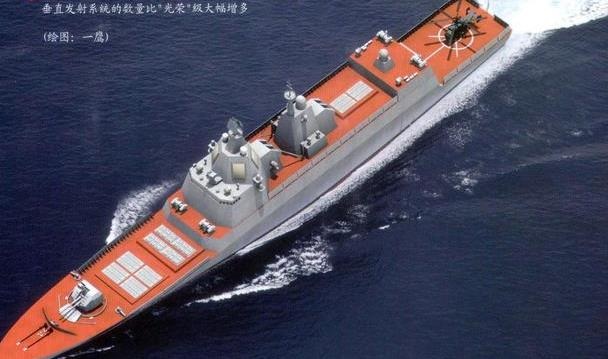 红色巨兽---光荣Ⅱ-夏伯阳级导弹巡洋舰