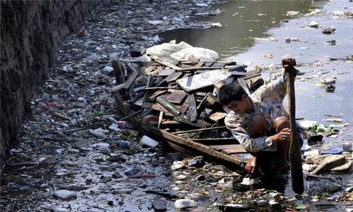 全球最脏的河:细菌量是印度恒河23倍,水里捡垃圾比捕鱼还赚钱