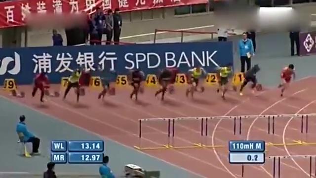 上海钻石联赛  刘翔师弟谢文骏夺冠!