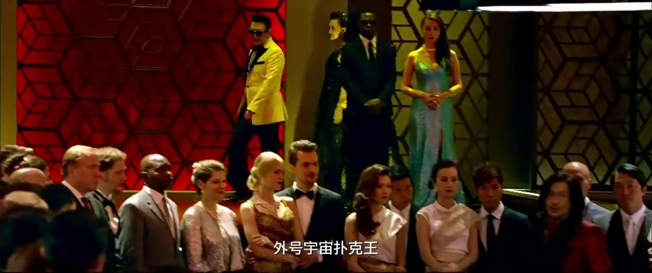 澳门风云3:韩国大叔PSY登场,要跟发哥打扑克,这样挑衅