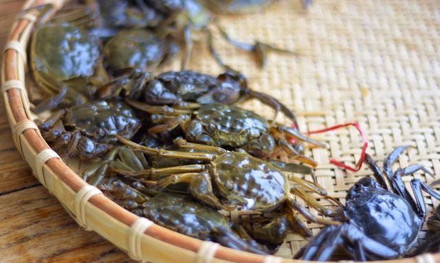 大闸蟹别再清蒸了,加上这种宁波特产炒着吃,既能当菜,又能当饭