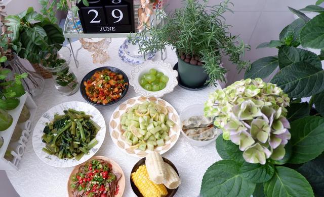 吃自己做的饭从不点外卖,简单的食材用心做这就是我理想的每一餐