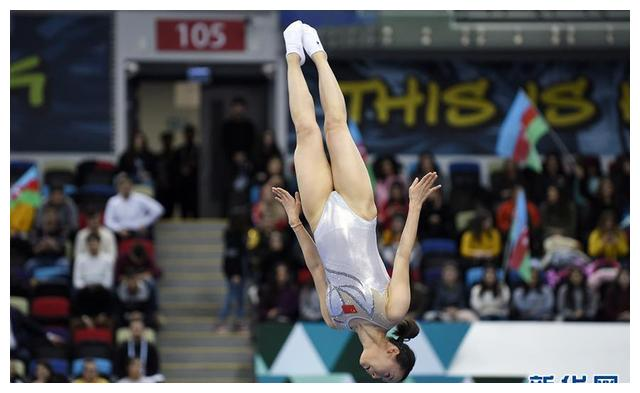 蹦床世界杯系列赛巴库站:朱雪莹获女子网上个人冠军