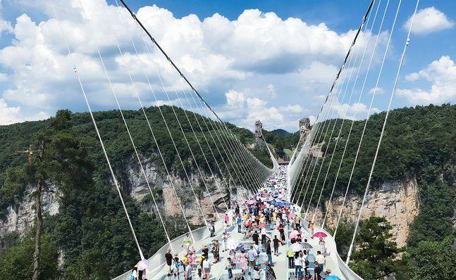 张家界大峡谷全面游玩,不只是有玻璃桥