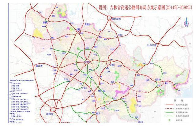 吉林省在建最长高速公路,松通高速究竟是什么样子?