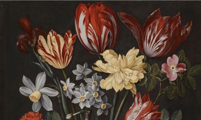 雅各布·范·休斯敦克 油画静物 美术作品欣赏