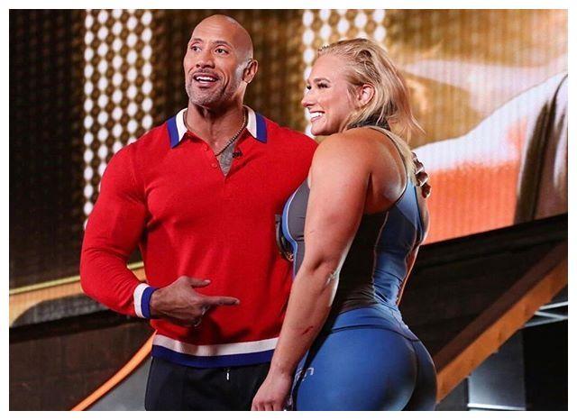 世界第一位女子泰坦冠军,健身肌肉悍女