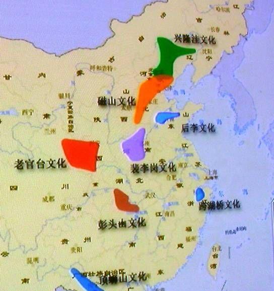 从地图来看中国新石器时代文化遗址的分布:龙山文化曾经一统中原