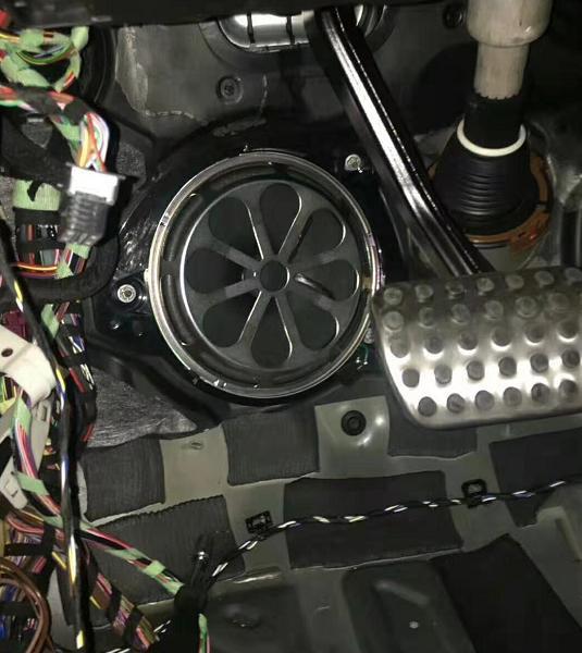 奔驰AMG GLC43改装案例分享,体验柏林之声带来的音乐享受