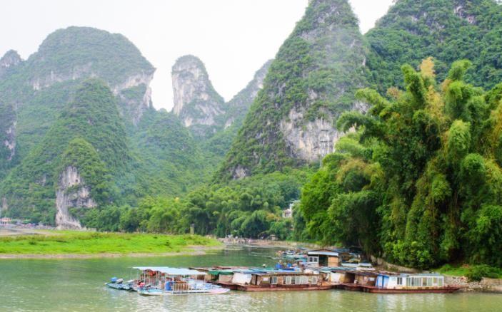 广西壮族自治区的漓江,美景如仙境,让人一眼便会记住