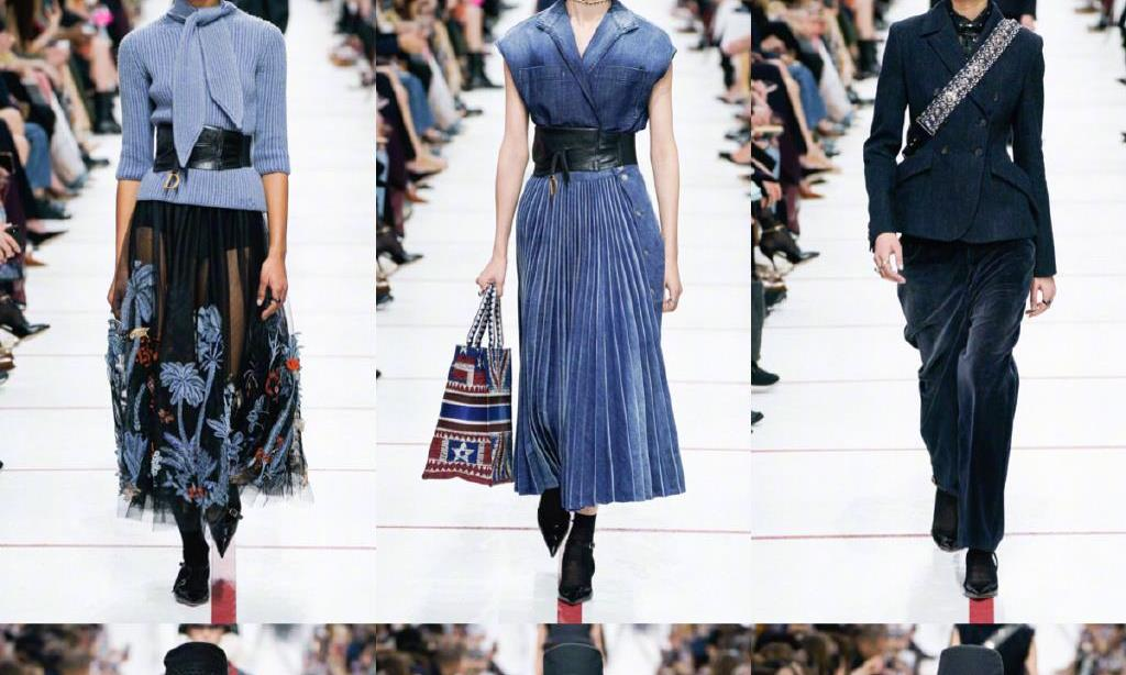 巴黎时装周迪奥秀,究竟是接地气,还是廉价感,新系列演绎实穿风
