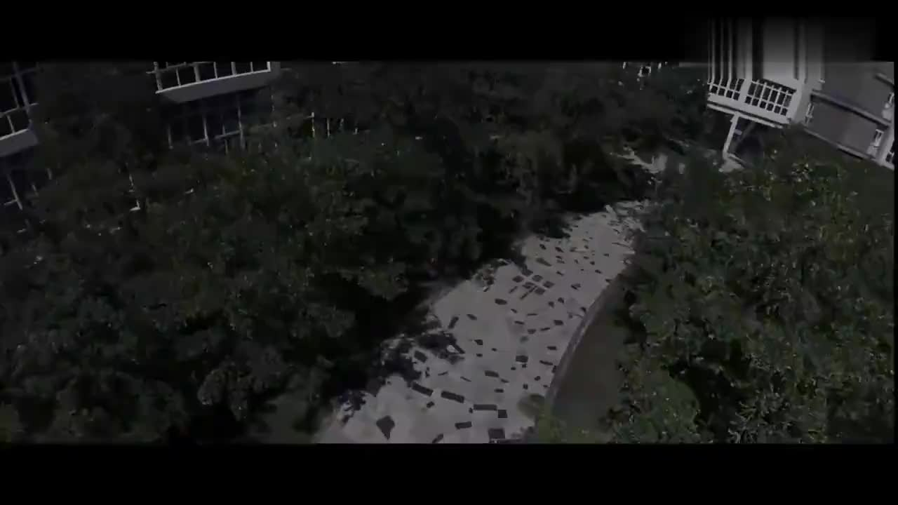 沈阳建筑大学,校园全景航拍,美丽的大学校园