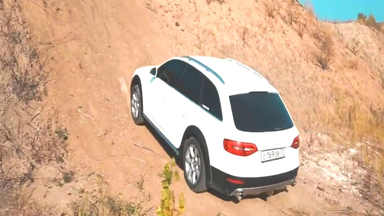 奥迪A4、斯巴鲁、丰田做一个爬坡测试,你能猜到结局吗?