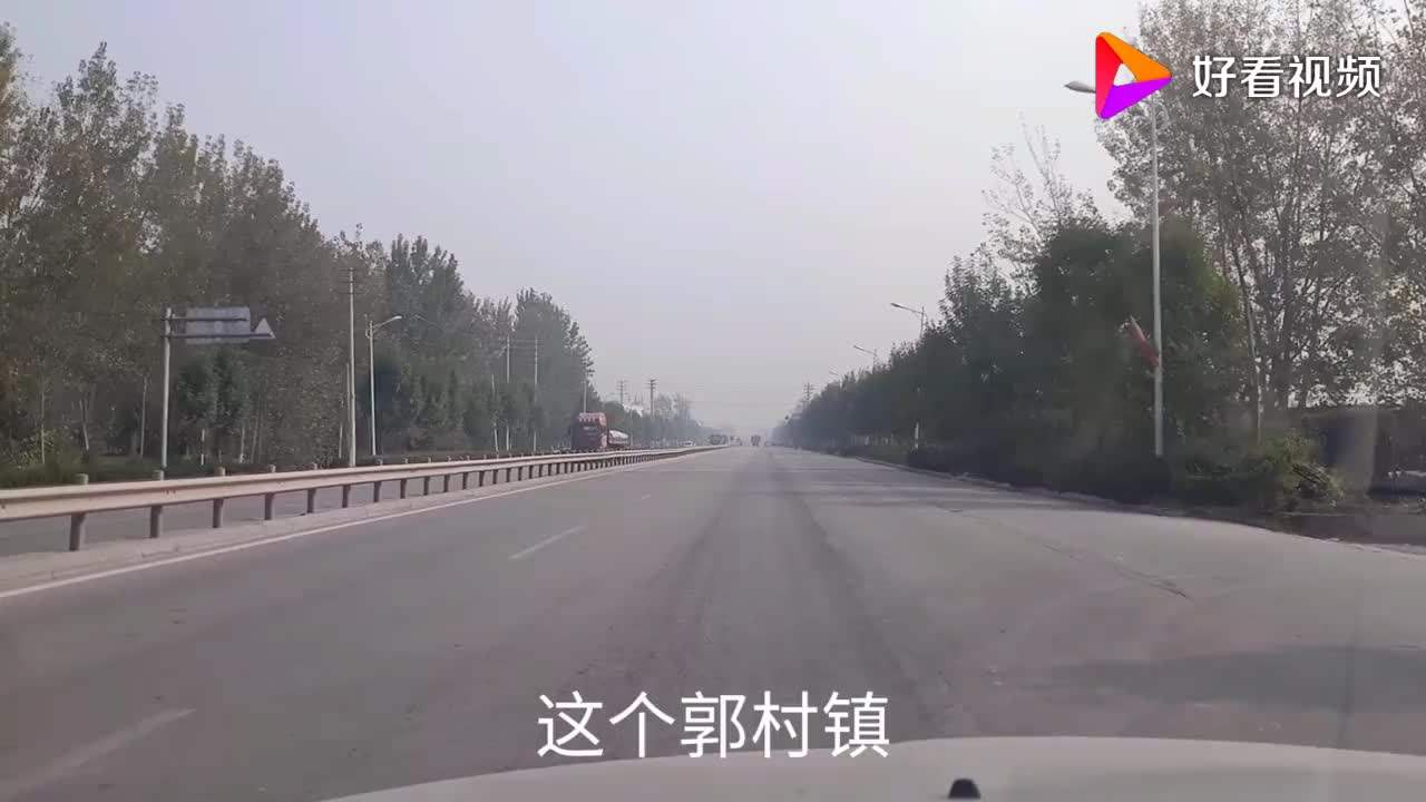 山东单县看郭村中心镇商铺林立据说朱之文有时骑电车来镇上