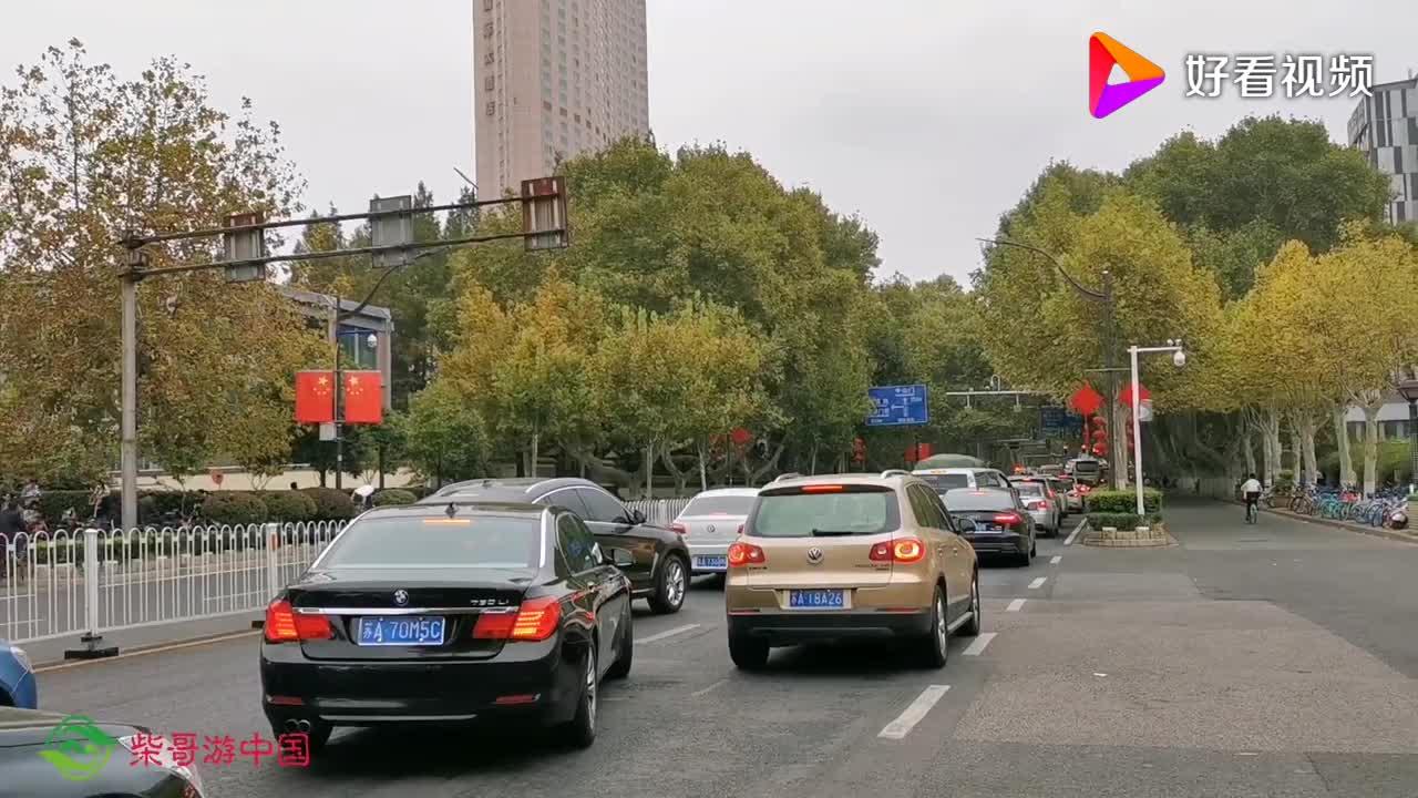 实拍中山东路上的南京航空航天大学211全国重点大学校园很美