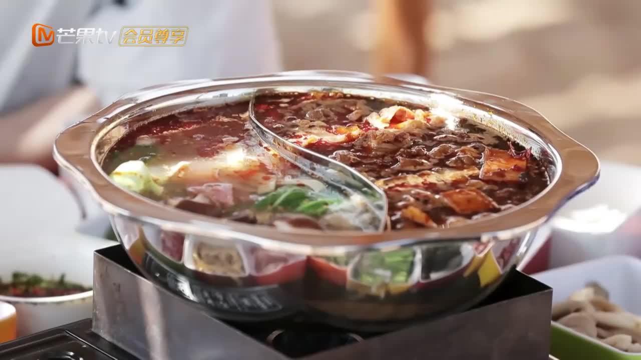 张翰吴磊沙漠享受美食 轮番压价遭遇滑铁卢