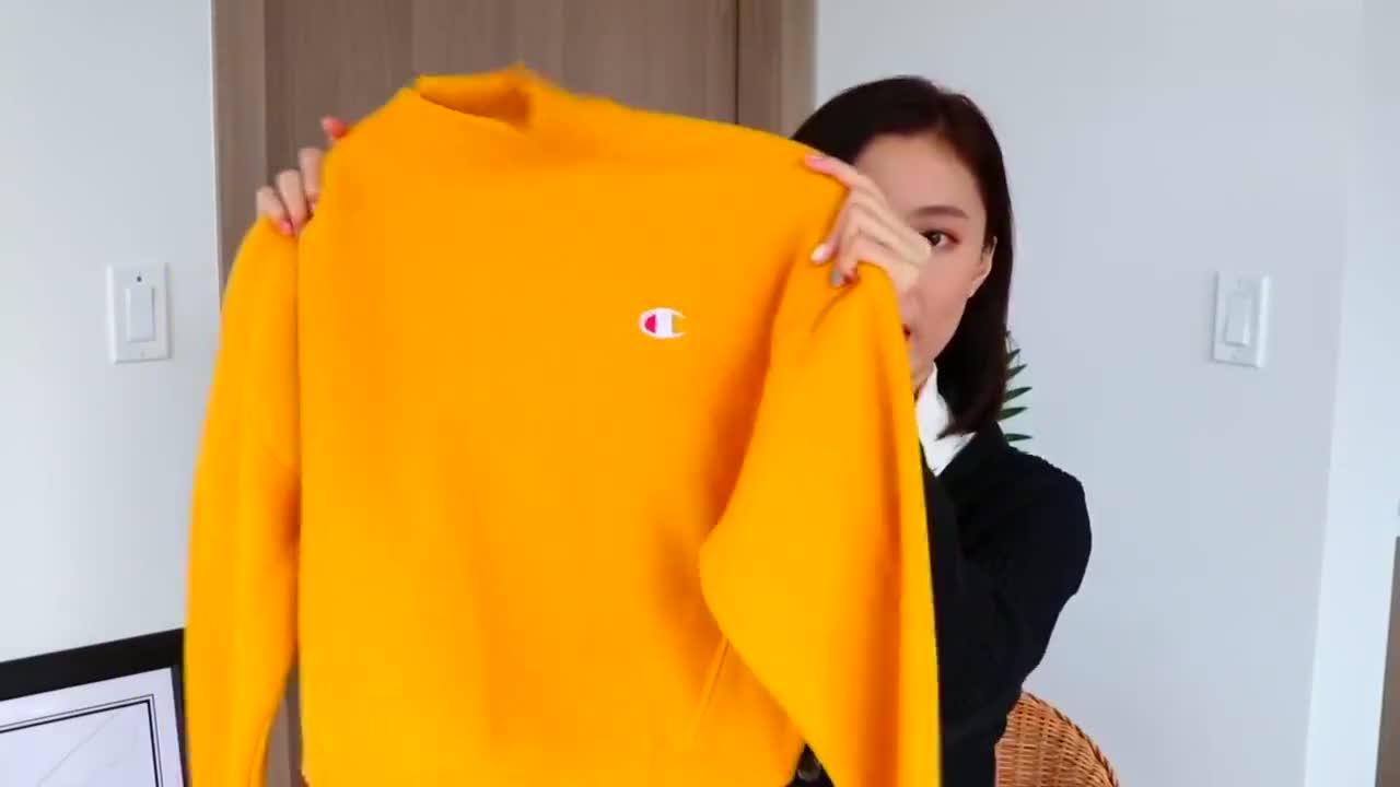 女人过了35要穿的上档次,试试这几款休闲百搭卫衣,保暖又减龄