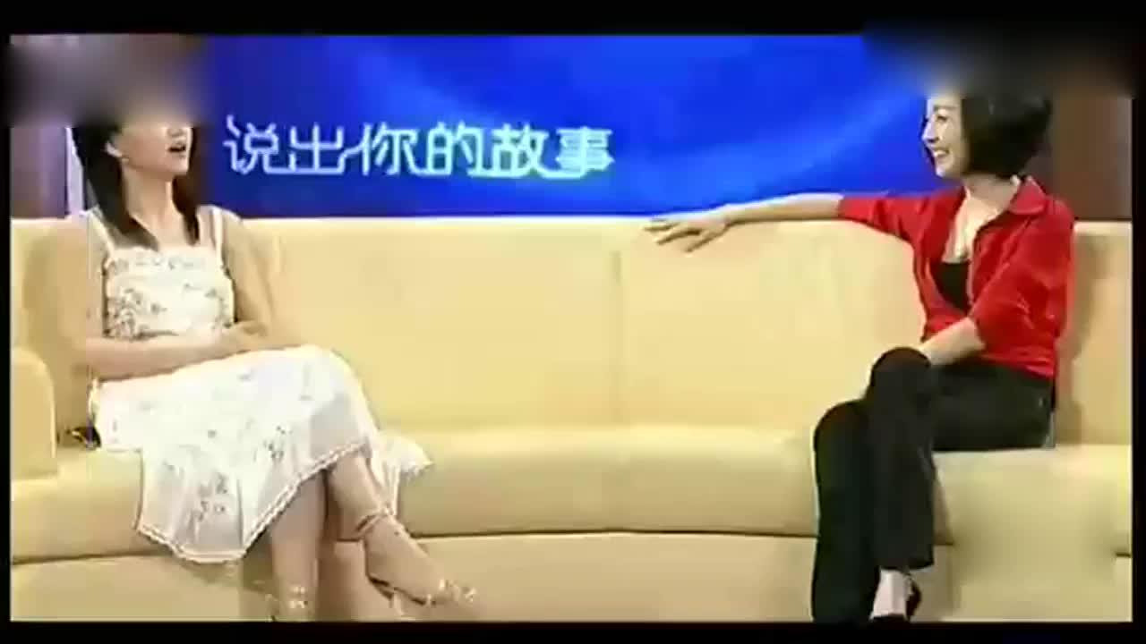 李湘受访还原和前夫李厚霖第一次见面场景鲁豫听的津津有味