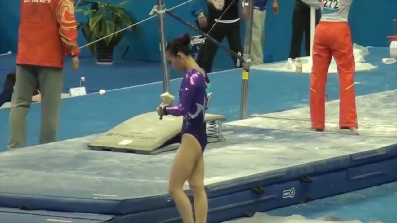 中国体操公主何可欣退役去了哪里颜值爆表却单身本人霸气回应
