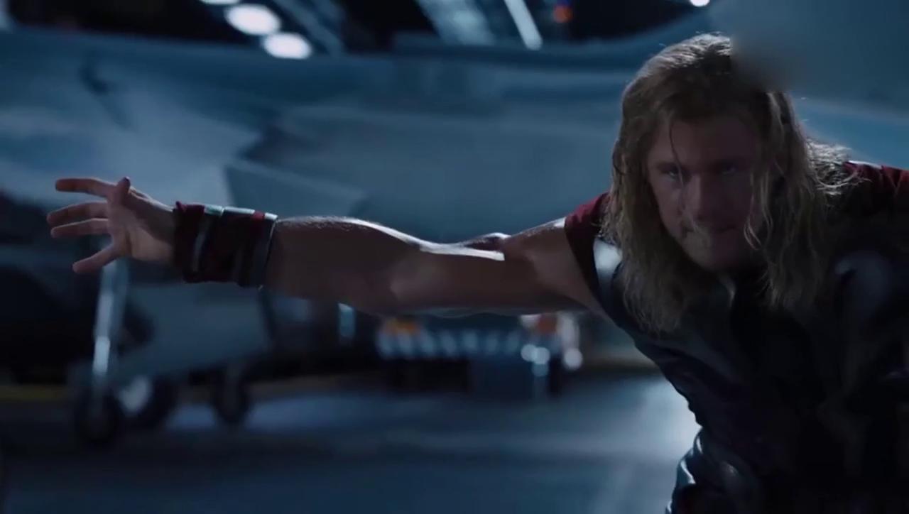 雷神的锤子有多重,绿巨人都拿不动