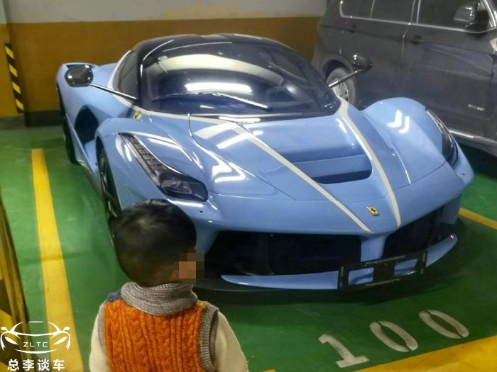 贾乃亮的拉法天价易手,2017年买的二手车,2019年卖掉,不亏反赚