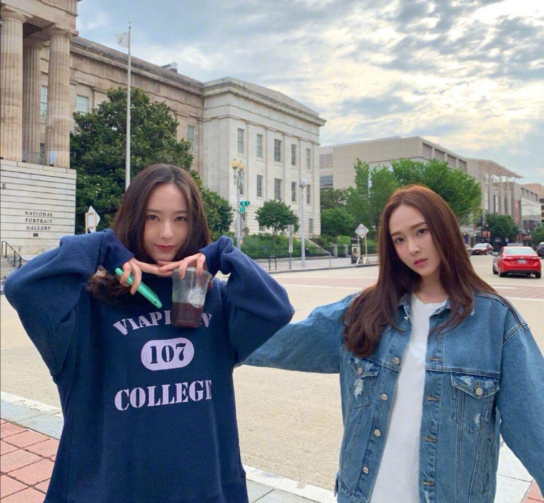 韩国郑氏姐妹合体 超级养眼