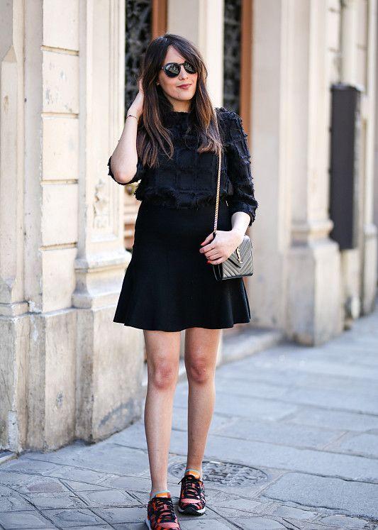 关于潮流的话题,精致俏丽的时尚达人穿搭教给你