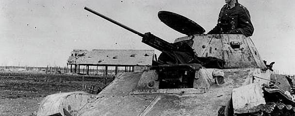 二战德国坦克为何喷涂少见的青灰色?德国的迷彩涂装影响世界至今