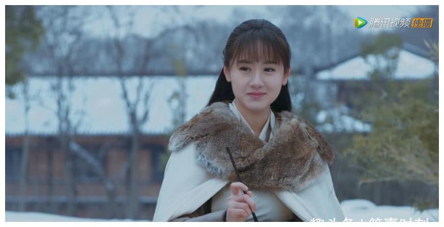 袁冰妍《将夜》中是清纯的莫山山,《杨凌传》却是娇羞的韩幼娘