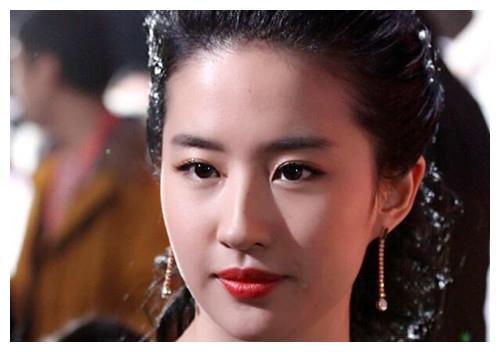 """娱乐圈公认的""""最标致""""美人脸,范冰冰、刘亦菲、高圆圆等榜上有"""