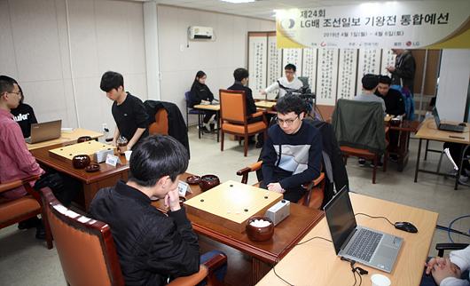 LG杯预选赛中国狂夺本赛十三席 中韩对抗唯一漏网之鱼又是崔精