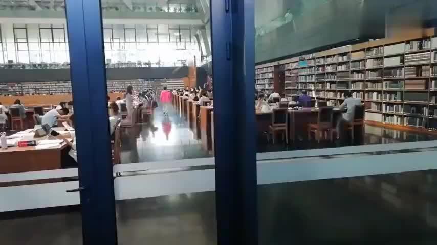 实拍中国国家图书馆,配上这音乐,绝了!