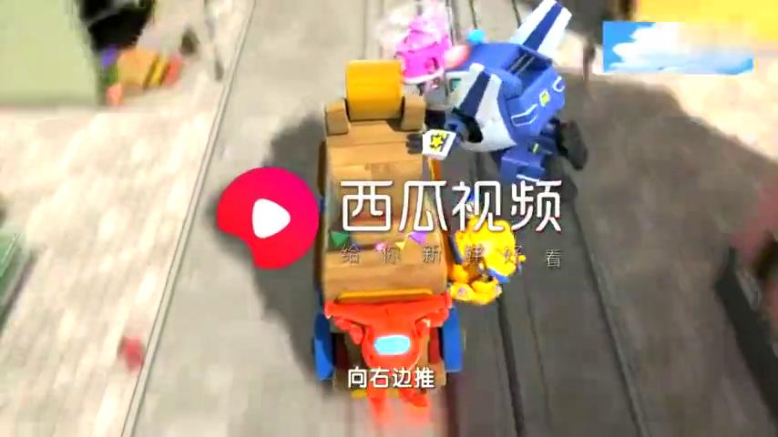 卡尔叔叔也能变身,从一辆卡车变成一个机器人,太炫酷了