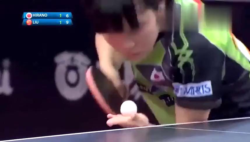 刘诗雯对战平野美宇,这一球惊呆世界球迷!整场比赛太精彩了!