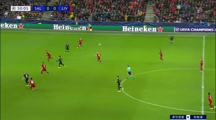 欧冠:有来有回!萨尔茨堡挑传送良机,哈兰德左脚怒射踢偏