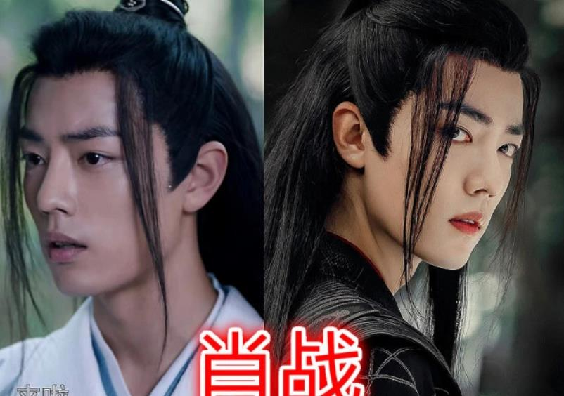 """古装男神""""龙须刘海"""",肖战男神,朱一龙飘逸,而李易峰是图片"""