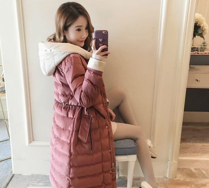 潮流街:系带收腰显瘦棉服,减龄又保暖