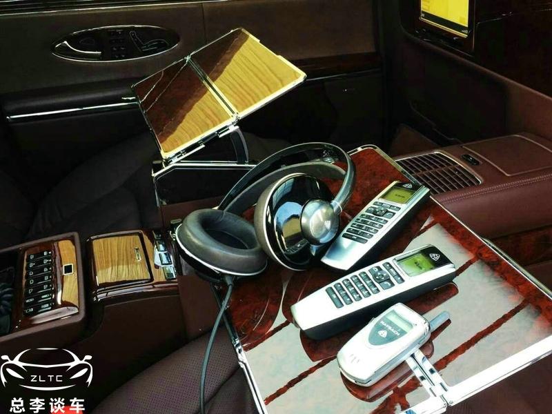 千万迈巴赫,配绝版手机,此手机全球罕见,LOGO是身份的象征