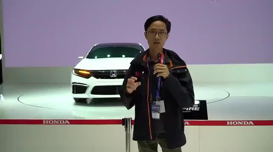 视频:2018北京车展新车快评本田inspire概念车